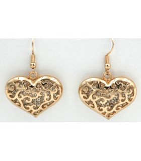 Heart shape fashion earrings