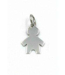 Baby Boy Silver pendant for Engraving