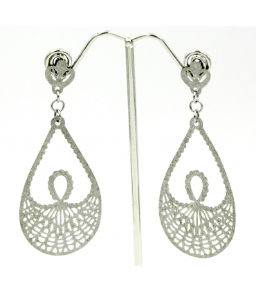 Stainless Steel long earrings
