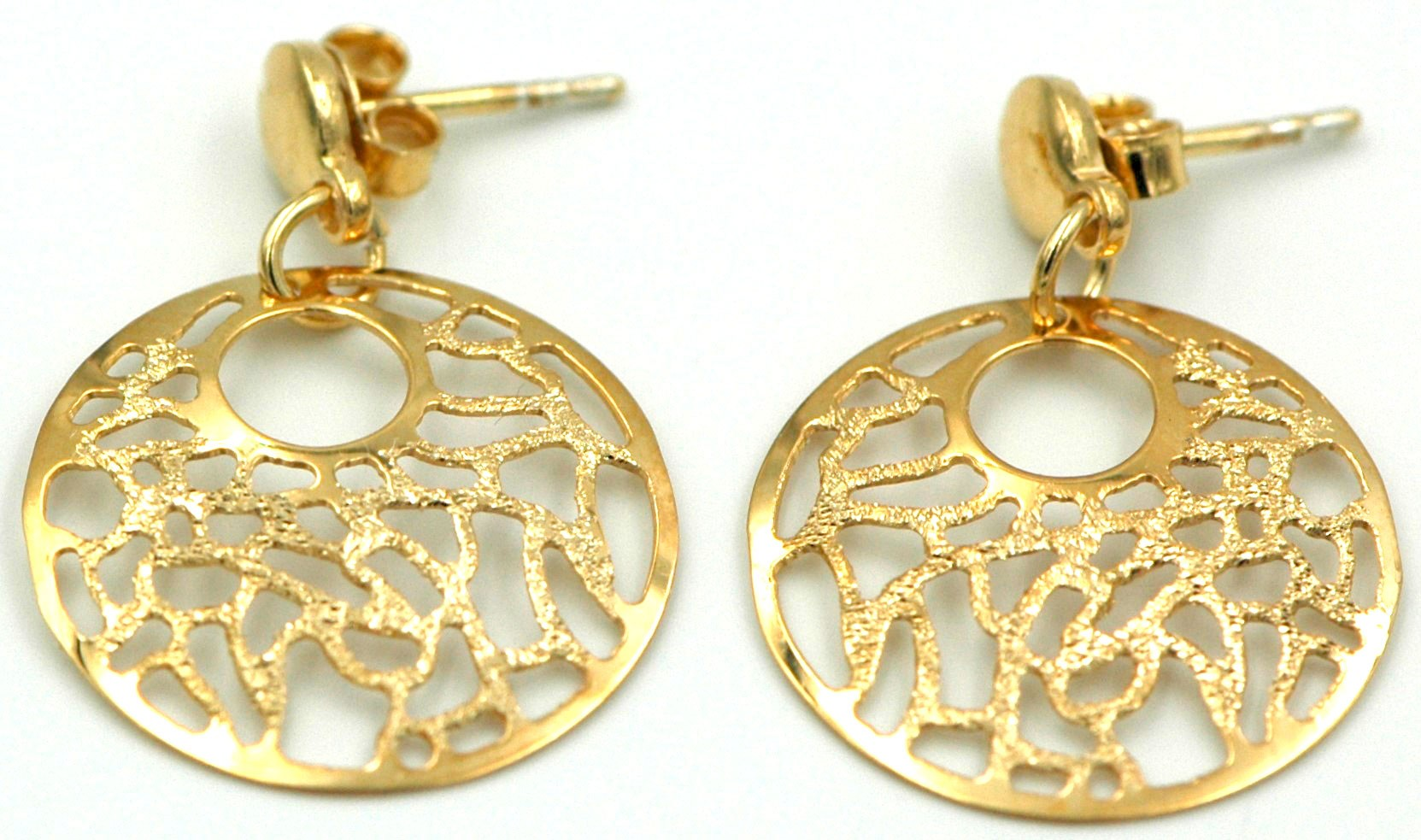 plated gold earrings mujajuma goldplated earring copy juma en muja
