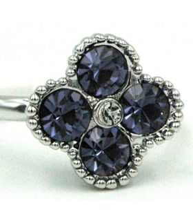 Crystal Tanzanite ring