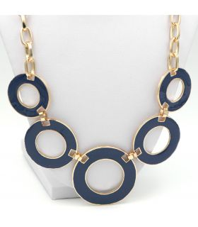 Circle design fashion necklace