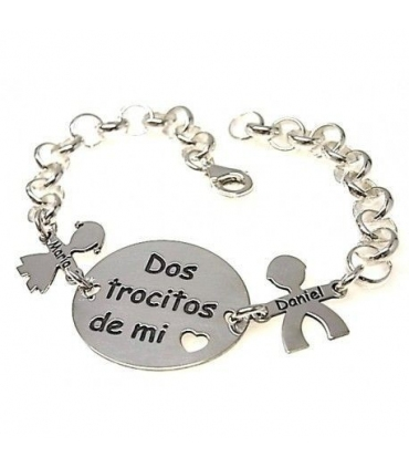 Silver bracelet to personalise