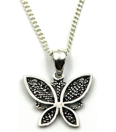 Butterfly pendant in Silver