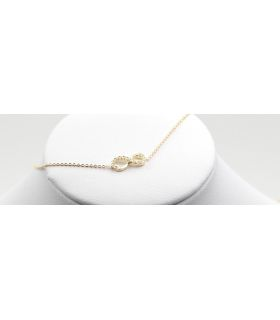 Infinity Knot Yellow Gold Bracelet