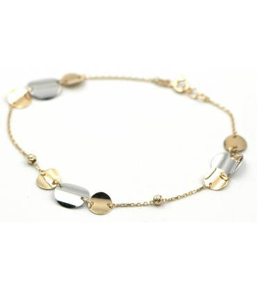 Multi Circles Gold Bracelet