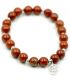 Red Jasper with Pentagram Bracelet