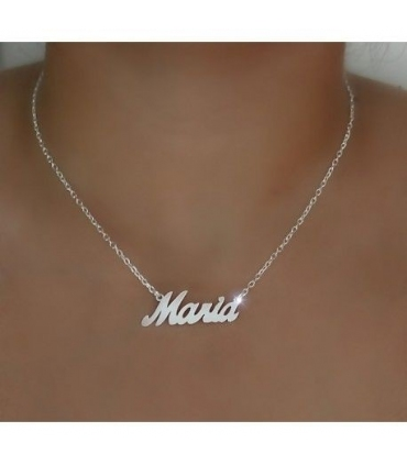 Silver Custom Choker Necklace