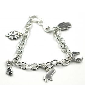 Good Luck Charms Silver Bracelet
