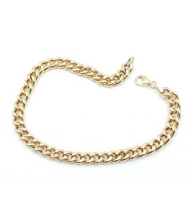 Barbada Chain Yellow Gold Bracelet