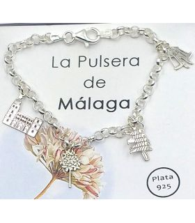 Málaga Bangle in Silver