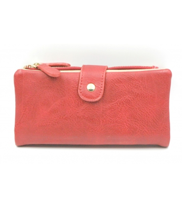 Long Ladies Red Purse