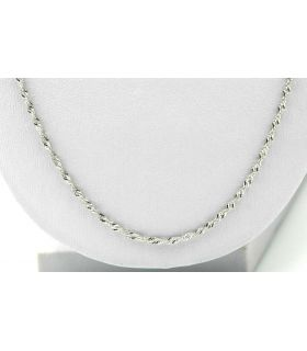 Singapore White Gold Chain 18K