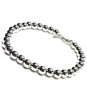 Sterling Silver round ball bracelet