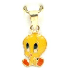 Tweety Pie Gold Pendant