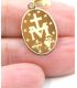 Our Lady of the Miraculous 18K Gold Medallion
