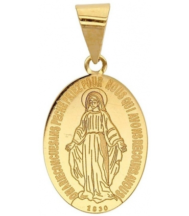 Our Lady of the Miraculous Gold Medallion